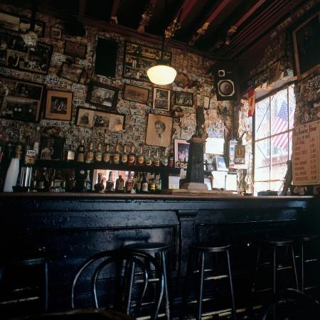 """<p>It couldn't be a list of haunted bars without a stop in New Orleans. The building the Old Absinth House now occupies was built in 1806. According to patrons glasses and chairs move around on their own—or, more likely, under the power of the ghosts like 18<sup>th</sup> century pirate Jean Lafitte. <i>CalatheaPhoto/Alamy Stock Photo</i></p><p><i><br></i></p><p>Love New Orleans? Don't miss the infamous Voodoo Music + Arts Experience live streaming free on #YahooLive, October 29 - November 1 on <a href=""""http://voodoo.yahoo.com"""" data-ylk=""""slk:http://voodoo.yahoo.com"""" class=""""link rapid-noclick-resp"""">http://voodoo.yahoo.com</a><i><br></i></p>"""