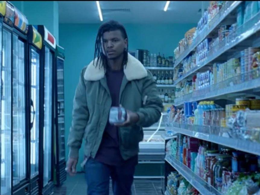 The ground-breaking #bloodnormal Libra TV ad also featured a young man purchasing period products. Photo: Libra.