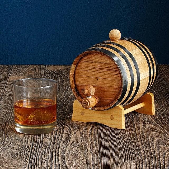 <p>If their like dark liquor, they'll probably be into this <span>Whiskey and Rum Making Kit</span> ($25 - $75). They can anything from scotch whiskey, spiced rum or a bourbon.</p>