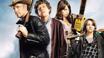 <p> This ones got all the right ingredients. A romantic sub-plot that isnt saccharine, a good laugh rate, a heroic celebrity cameo and Woody Harrelson battering the undead with a baseball bat. As tired as the zombie genre has become over the last ten years or so, there are still sparks of imagination to be found, and Zombieland hits all the right notes. Should be a winner. </p>