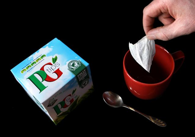 PG Tips and other Unilever tea brands are under review. Photo: PA