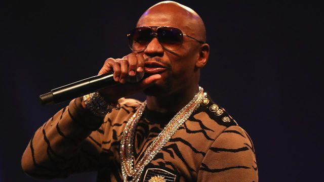 Mayweather showed he had no idea about the MeToo campaign. Pic: Getty