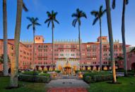 """<p>This Waldorf Astoria resort wows from the moment you drive up. Four waterfront pools, a massive private beach, excellent golf and tennis amenities, and an impressive array of wellness services means you could be content to never leave the property.<a href=""""https://www.bocaresort.com/the-hotels/beach-club/"""" rel=""""nofollow noopener"""" target=""""_blank"""" data-ylk=""""slk:Boca Raton Resort & Club"""" class=""""link rapid-noclick-resp""""> Boca Raton Resort & Club</a> also offers private bungalows and a yacht club to accommodate your ideal vacation needs. </p>"""