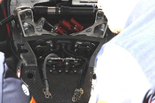 "Detalle frontal del Red Bull Racing RB16 <span class=""copyright"">Giorgio Piola</span>"