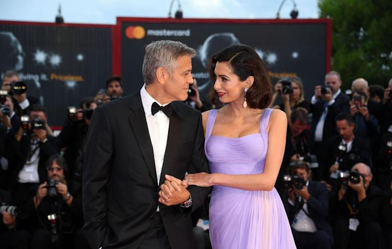 Amal Clooney has revealed there was one thing that surprised her about her husband. The couple were recently at the Venice Film Festival looking totally loved-up. Source: Getty