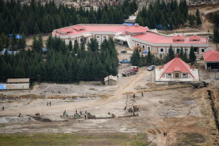The plan involves the rebuilding of the entire town of Samjiyon, the seat of a county that includes the supposed birthplace of Kim's father Kim Jong Il