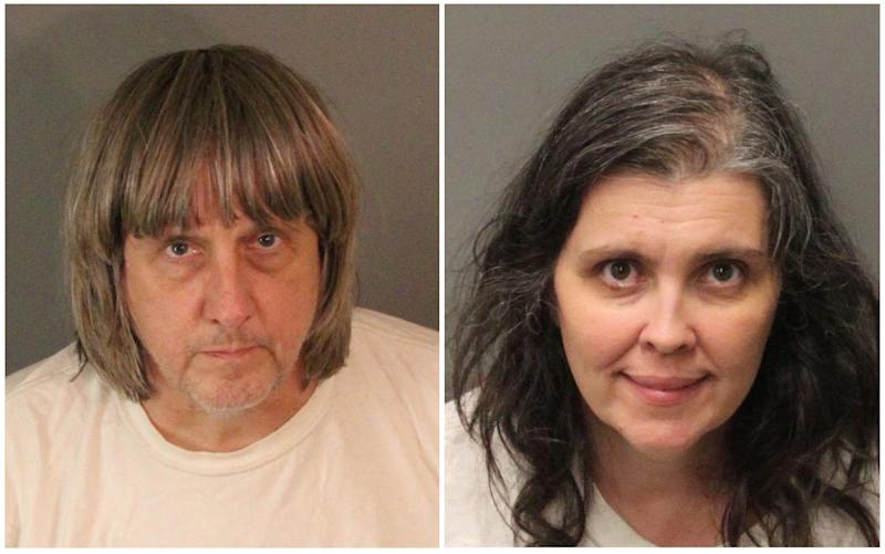 David Allen Turpin, 57, and Louise Anna Turpin, 49, have been charged with child endangerment and torture. (Handout/Reuters)