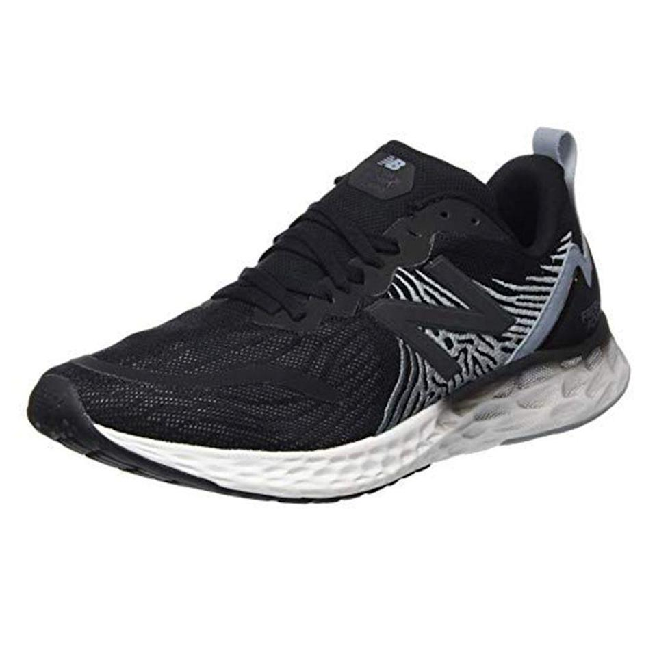 """<p><strong>New Balance</strong></p><p>amazon.com</p><p><a href=""""https://www.amazon.com/dp/B07S2QL31N?tag=syn-yahoo-20&ascsubtag=%5Bartid%7C2139.g.33501651%5Bsrc%7Cyahoo-us"""" rel=""""nofollow noopener"""" target=""""_blank"""" data-ylk=""""slk:BUY IT HERE"""" class=""""link rapid-noclick-resp"""">BUY IT HERE</a></p><p><del>$109.99</del><strong><br>$88.14 (20%)</strong><br><br>New Balance's Fresh Foam Tempo V1 responsive sneakers have a springy feel that makes summoning the motivation to *actually* workout all the more easier. </p>"""