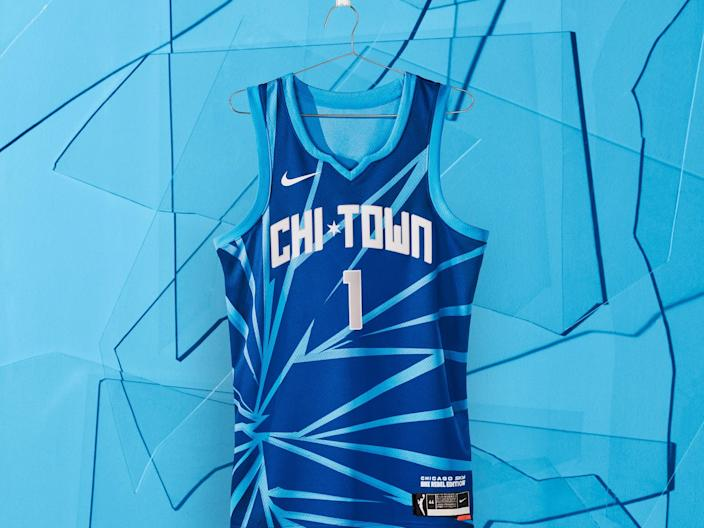 chicago sky rebel edition jersey