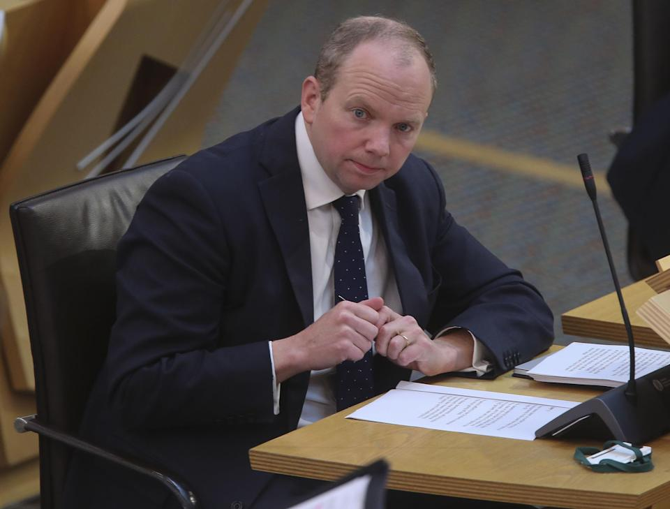 Tory MSP Donald Cameron urged the Scottish Government to apologise and make changes to the legislation (Fraser Bremner/Scottish Daily Mail/PA)