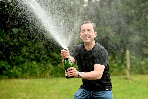 Truck driver Marcin Jedrzejewski scooped £350k with a £1 Lucky Dip ticket (SWNS)