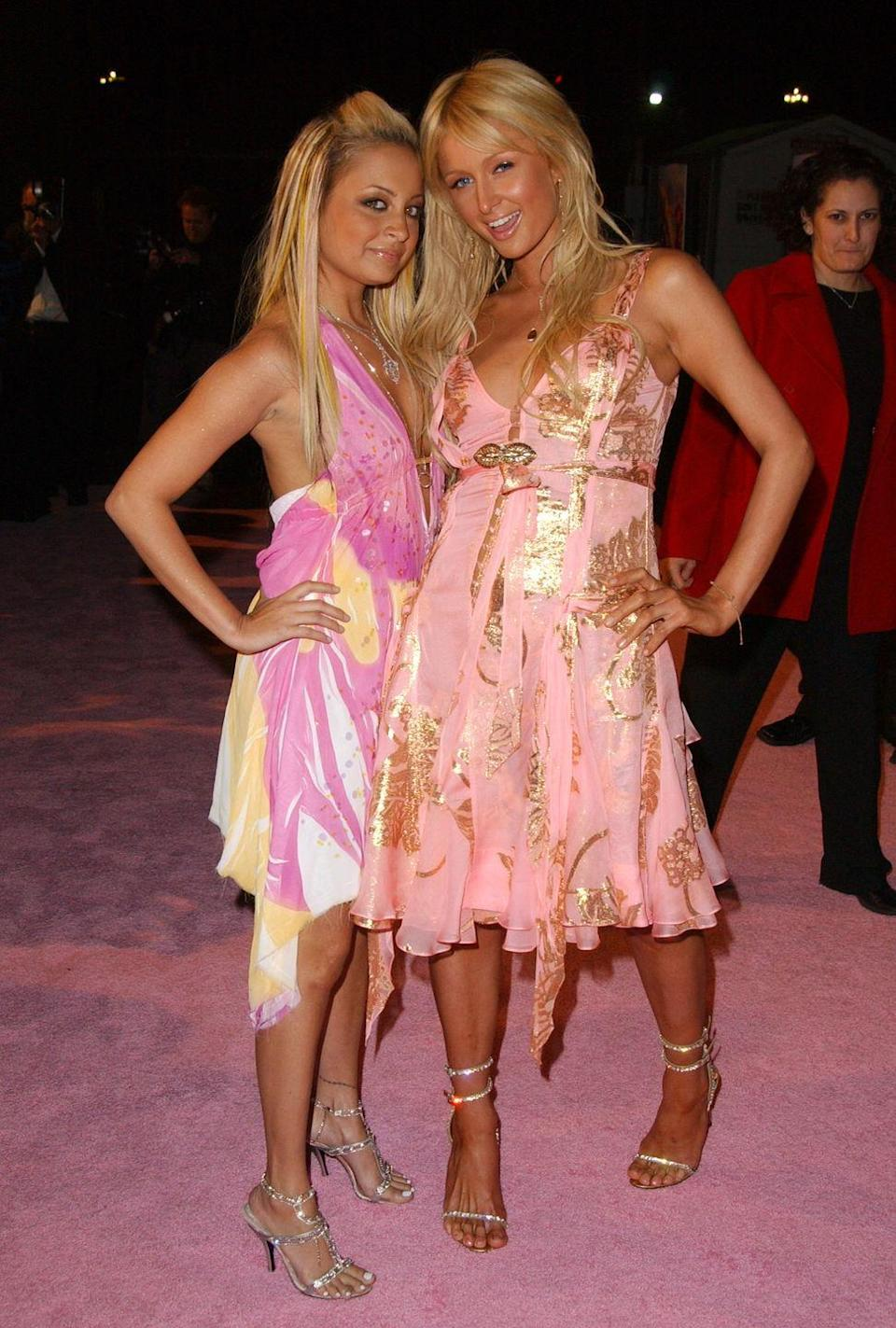 <p>The O.G. besties walked the <em>pink</em> carpet at the season two premiere of <em>The Simple Life</em>.</p>