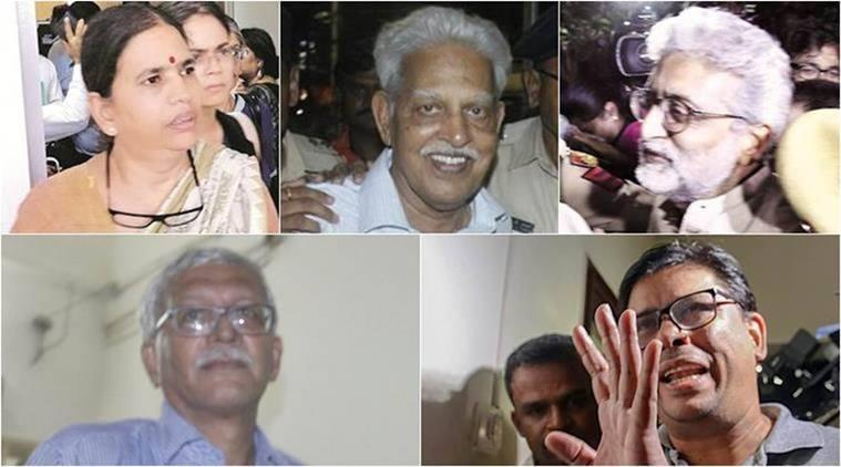 Elgaar Parishad case: 9 accused appear before Mumbai court, sent to judicial custody till March 13