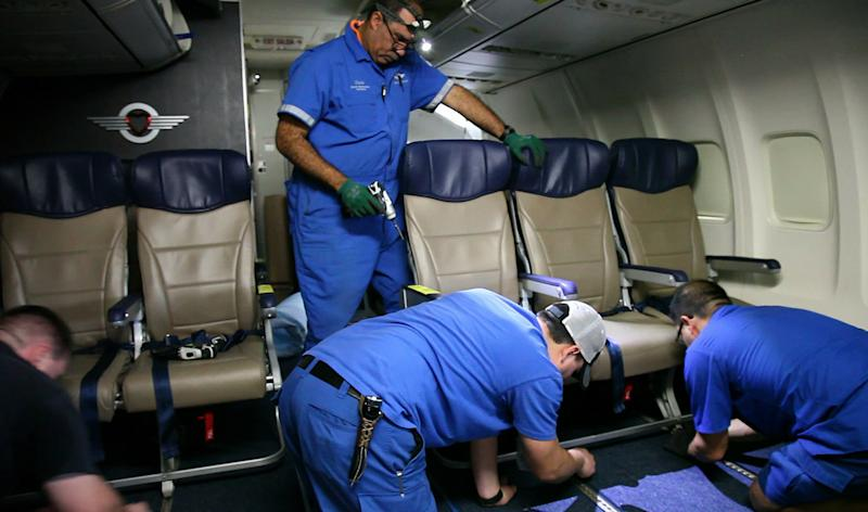 New seats let airlines squeeze in more passengers