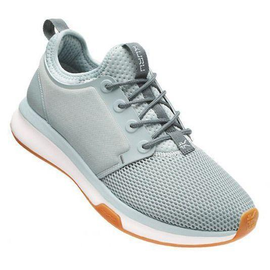 """<p><strong>Kuru</strong></p><p>kurufootwear.com</p><p><strong>$125.00</strong></p><p><a href=""""https://www.kurufootwear.com/womens-atom.html"""" rel=""""nofollow noopener"""" target=""""_blank"""" data-ylk=""""slk:Shop Now"""" class=""""link rapid-noclick-resp"""">Shop Now</a></p><p>When rushing out the door, you cannot be bothered with a sneaker tongue that just gets in the way. Kuru Atom sneakers feature a slip-on design with laces for added security. Dr. Splichal notes that<strong> the plastic in the sole adds extra arch support</strong>, great if you have flat feet. Testers gave high scores for cushioning, support, fit, and appearance with six colors available. The stretchable mesh upper is great to accommodate wider feet or bunions. </p>"""