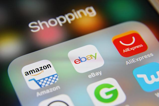 Third-party sellers are ripping-off consumers on online marketplaces by exploiting the coronavirus pandemic to list overpriced items that are difficult or impossible to find in local shops. (Getty)
