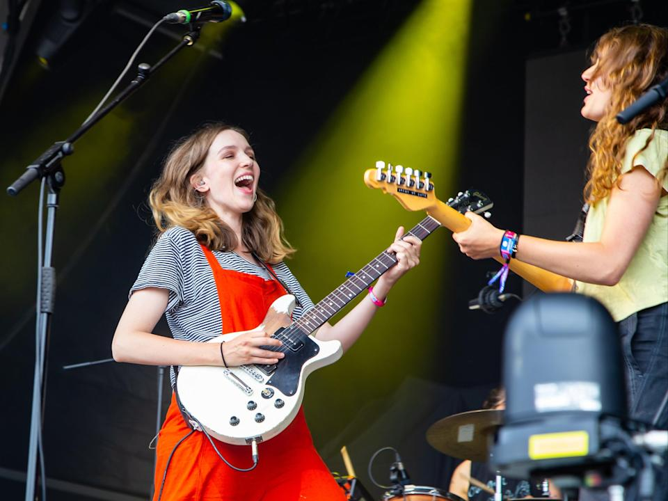 The Big Moon perform at Standon Calling Festival (Amy Smirk)