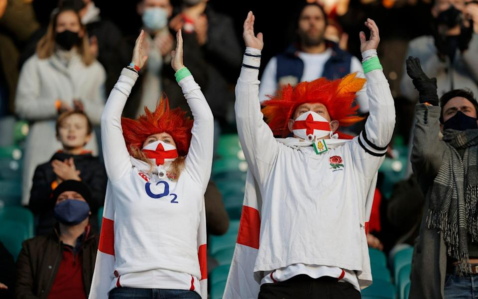 England rugby fans will need valid NHS Covid Pass to attend autumn internationals - Tom Jenkins