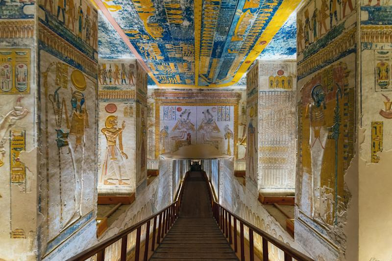 Tomb KV9 in Egypt's Valley of the Kings.