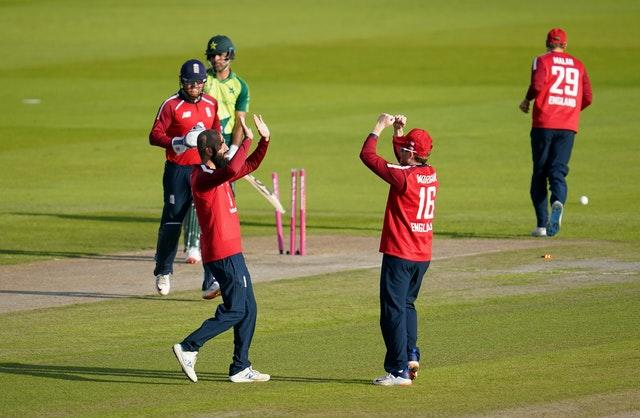 Moeen (left) revealed his admiration and respect for England skipper Eoin Morgan