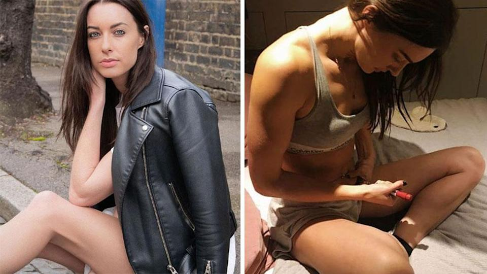 Years of Tinder dating helped Emily make a big decision about her future. Photo: Instagram/emilyhartridge