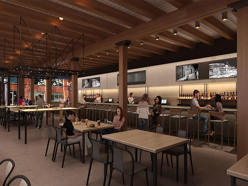 Chicago's Newest Food Hall to Debut Five Restaurants