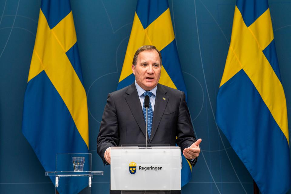 Swedish Prime Minister Stefan Lofven says the country still doesn't believe in lockdowns. Source: Getty