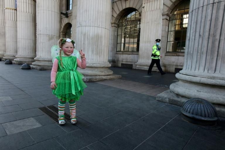 Ireland's St Patrick's day celebrations were dampened for a second year running with the country still facing virus restrictions