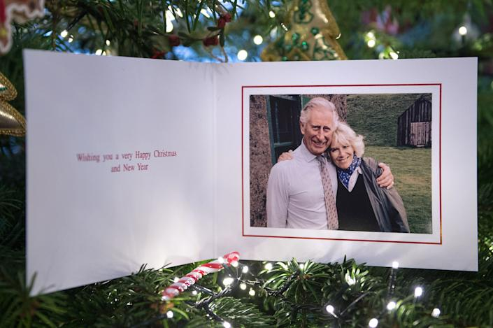 Prince Charles and Camilla Christmas Card 2015