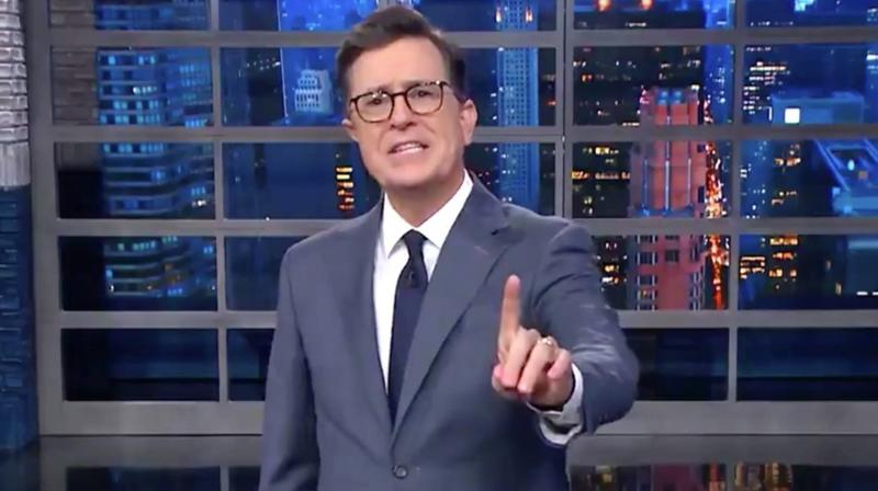 Stephen Colbert Gets His Entire Audience To Deliver A Very Loud Message To Trump