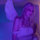 """<p>Jules went as Juliet for Halloween, like from <em>Romeo and Juliet</em>. </p><p><strong>What you'll need:</strong> <em>Angel Wings, $24.99, Amazon</em></p><p><a class=""""link rapid-noclick-resp"""" href=""""https://www.amazon.com/Happy-Place-Products-Adjustable-Halloween/dp/B084FKYWBS/ref=sr_1_1_sspa?tag=syn-yahoo-20&ascsubtag=%5Bartid%7C10065.g.28792102%5Bsrc%7Cyahoo-us"""" rel=""""nofollow noopener"""" target=""""_blank"""" data-ylk=""""slk:SHOP NOW"""">SHOP NOW</a></p>"""