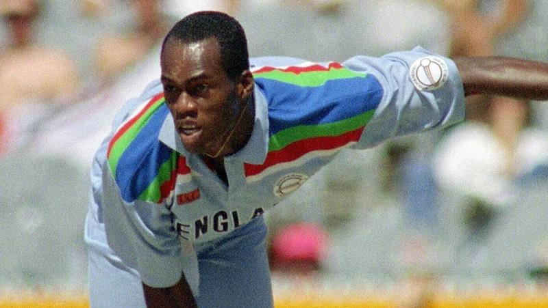 Chris Lewis starred for England in an eight-year international career. Pic: Getty
