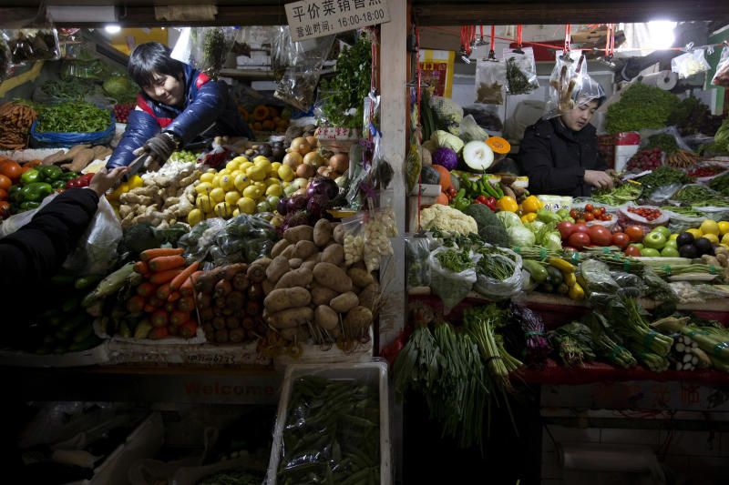China's March inflation eases to 2.1 percent