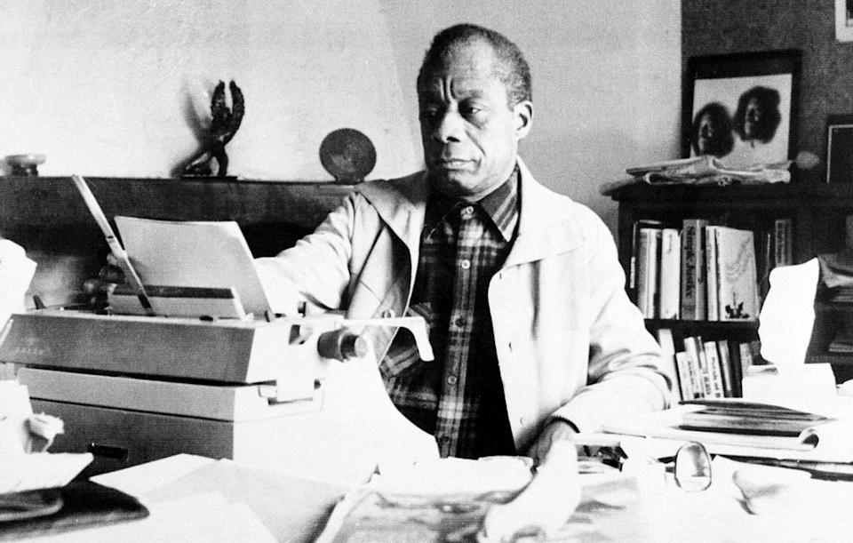 Writer James Baldwin photographed on March 21, 1983.