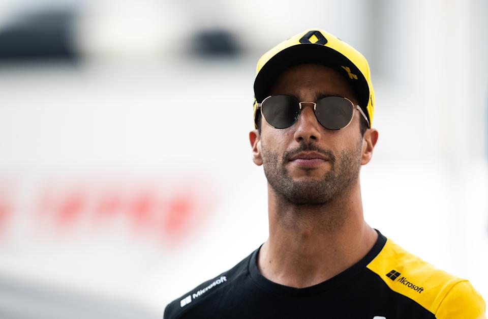 Daniel Ricciardo admitted he didn't want to race following Hubert's passing. (Photo by Lars Baron/Getty Images)