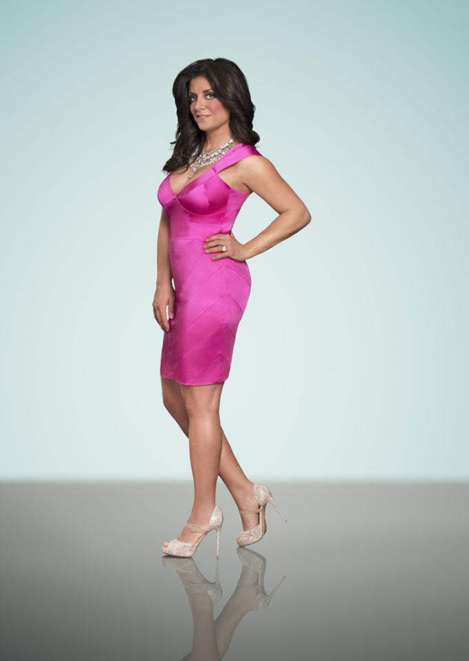 """Kathy Wakile in Season 5 of Bravo's """"The Real Housewives of New Jersey."""""""
