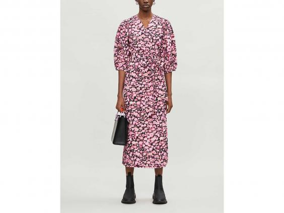 Brighten up your wardrobe with this colourful midi dress (Selfridges)