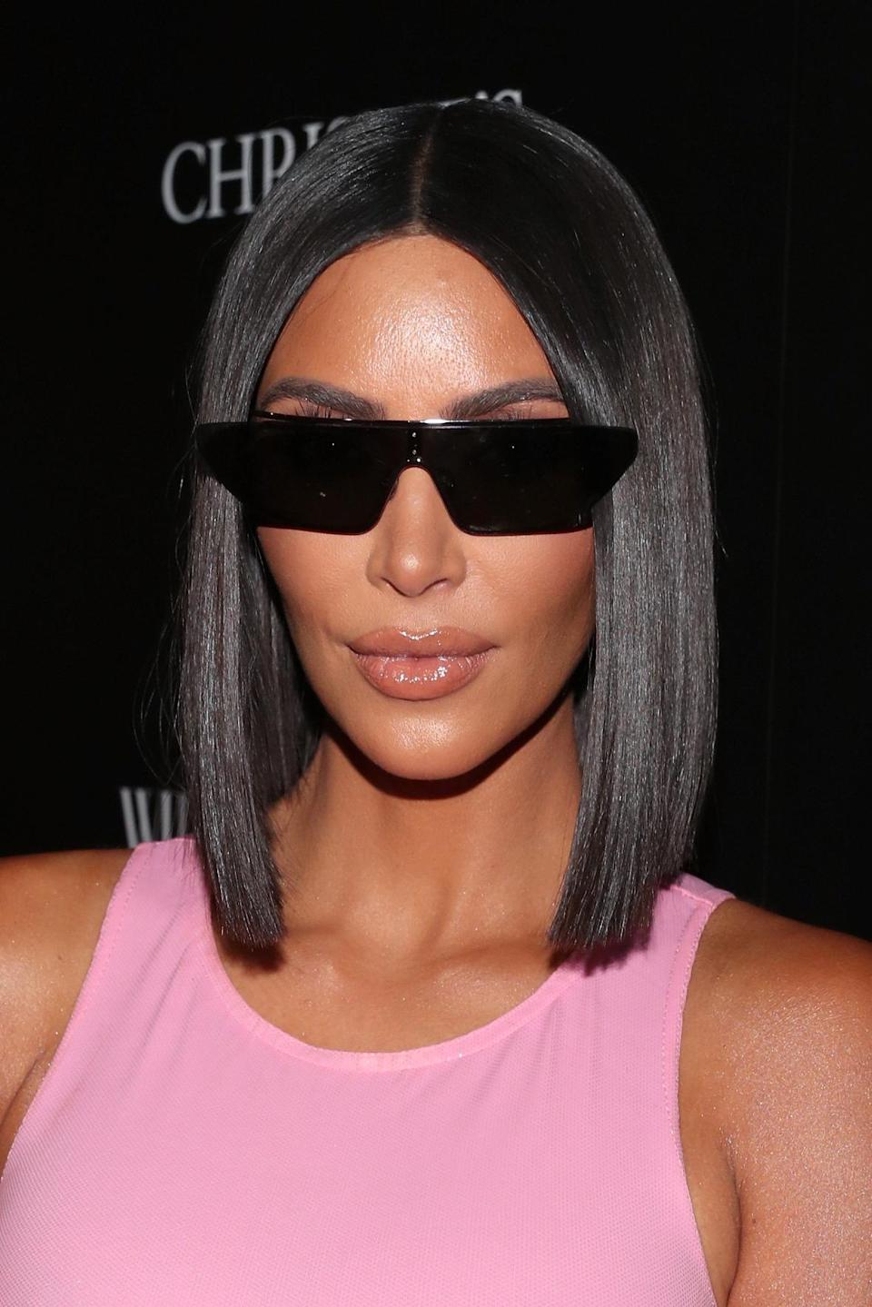 Kim Kardashian's latest photo of daughter North has been criticized. (Photo: Christopher Polk/Getty Images)