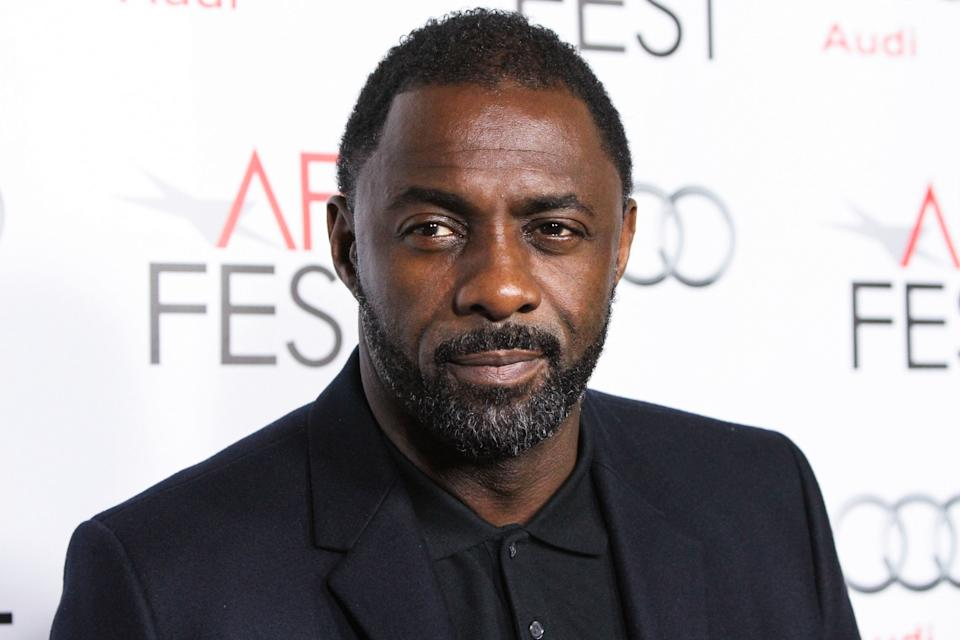 (FILE) Idris Elba Tests Positive for Coronavirus COVID-19. Idris Elba has tested positive for coronavirus, the actor said on Monday, March 16, 2020 on Twitter. HOLLYWOOD, LOS ANGELES, CALIFORNIA, USA - NOVEMBER 10: Actor Idris Elba arrives at the AFI FEST 2013 - 'Mandela: Long Walk To Freedom' Special Screening held at American Cinematheque's Egyptian Theatre on November 10, 2013 in Hollywood, Los Angeles, California, United States. (Photo by Xavier Collin/Image Press Agency/Sipa USA)