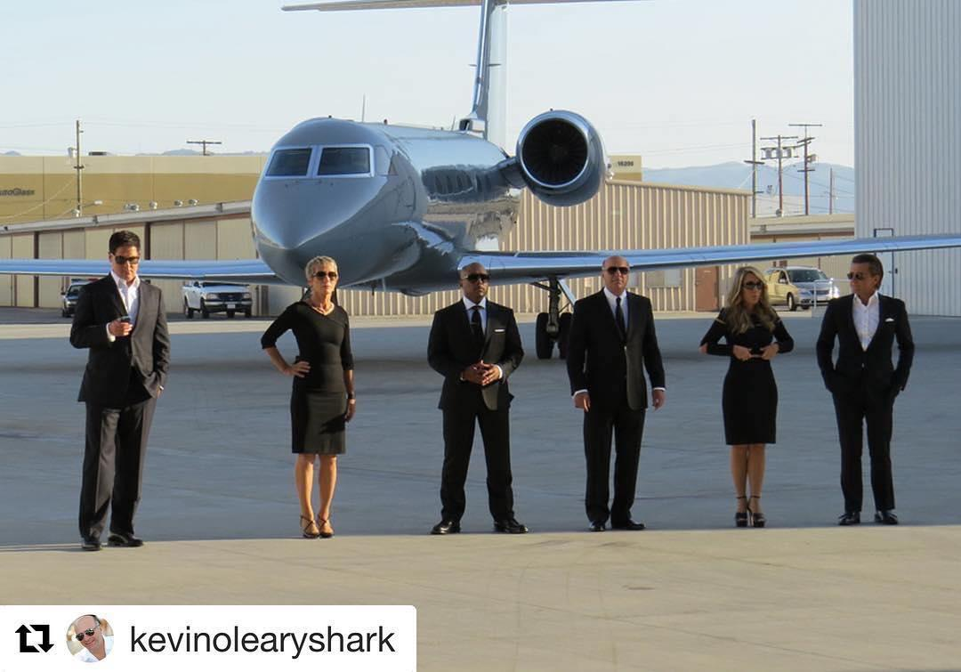 <p>#Repost @kevinolearyshark: The Sharks are taking over @yahootv's Instagram today!!! Get the behind the scenes look at everything that goes on inside the #SharkTank! …annnnddd make sure you watch tonight's all new ep of@sharktankabc at 9/8C unless you want to be dead to me! (Credit: Instagram) </p>