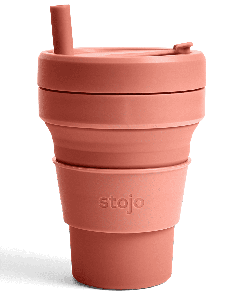 <p>How cute is this 16-ounce <span>Stojo Cup</span> ($20)?</p>