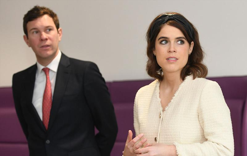 Princess Eugenie changes her name eight months after marrying Jack Brooksbank