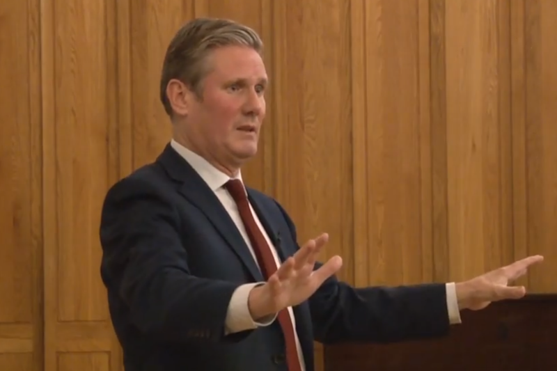 """Keir Starmer has warned that Britain """"won't go back to normal"""" after a vote to remain in the EU in a second referendum: PA"""