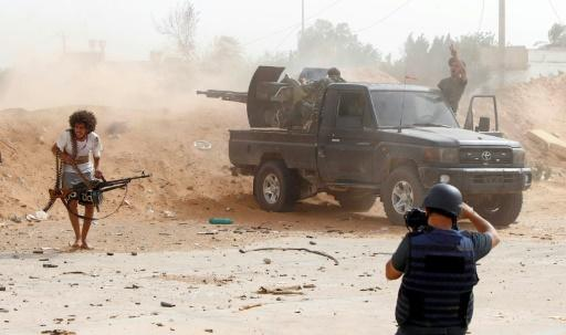 Libya has been torn by fighting between rival armed factions since a 2011 NATO-backed uprising killed dictator Moamer Kadhafi and toppled his regime