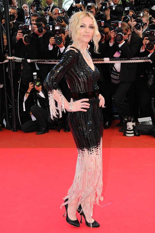 "Madonna also drew out the crowds at Cannes. The singer's documentary, ""I Am Because We Are,"" examines the plight of Malawiian orphans who have lost their parents to HIV and AIDS. Madonna son David was adopted from Malawi. George Pimentel/<a href=""http://www.wireimage.com"" target=""new"">WireImage.com</a> - May 20, 2008"