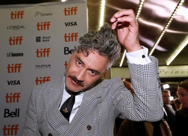"Taika Waititi arrives at the world premiere of ""Jojo Rabbit"" at the Toronto International Film Festival (TIFF) in Toronto, Ontario, Canada September 8, 2019. REUTERS/Mario Anzuoni"