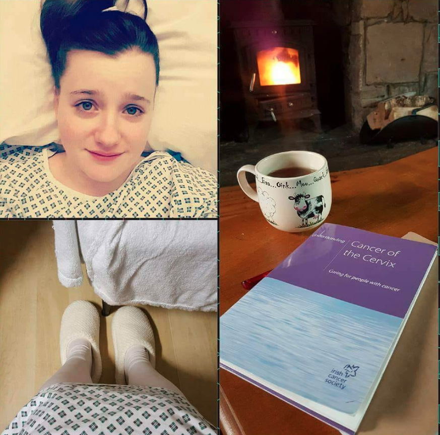 Heather Ryan, from County Tipperary in Ireland, took to social media to write about her experience, after she was diagnosed with cervical cancer at the age of 24, one year before she was eligible for a free pap smear. Photo: Facebook/Heather Ryan