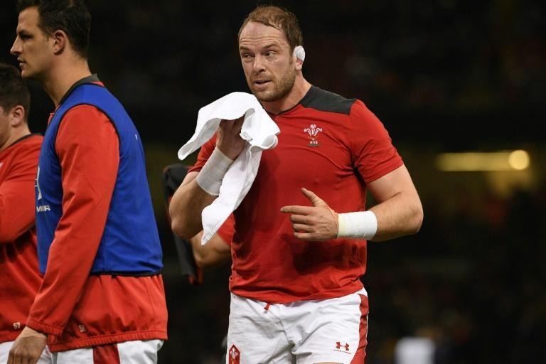 Record holder: Wales captain Alun Wyn Jones is Test rugby's most-capped player