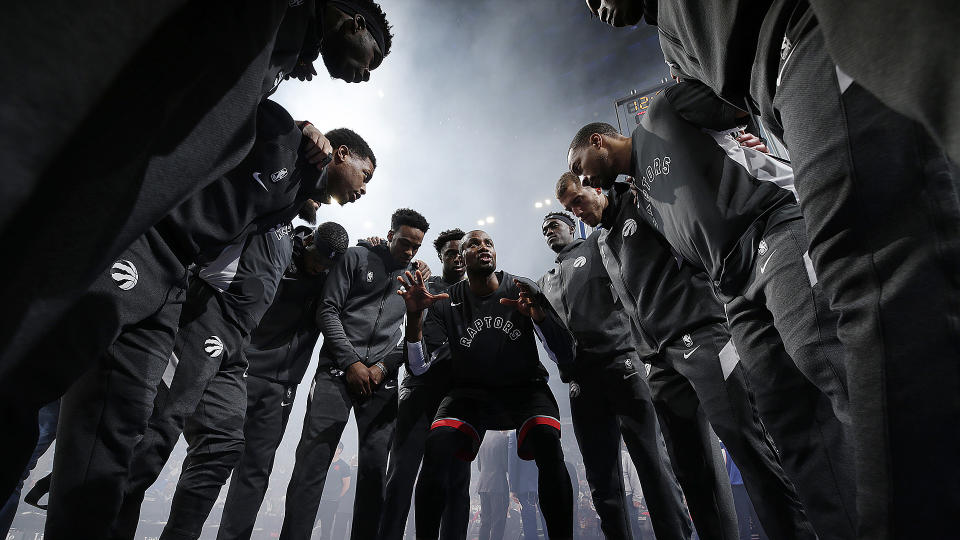 Never underestimate the heart of a champion. (Photo by Brian Sevald/NBAE via Getty Images)