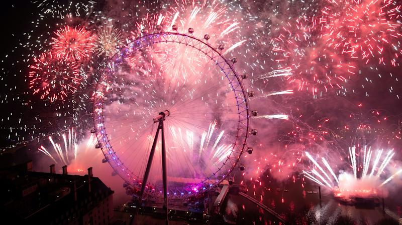 London's New Year's Eve fireworks display cancelled